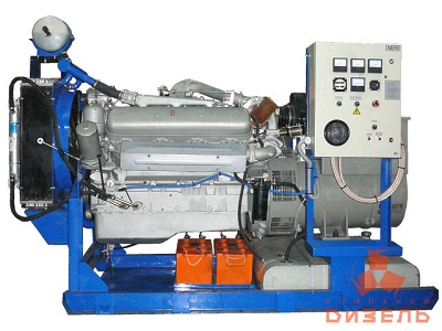 Дизельная электростанция АД150 на двигателе ЯМЗ
