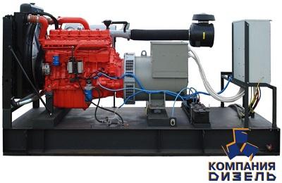 Дизельная электростанция АД320 на двигателе Scania