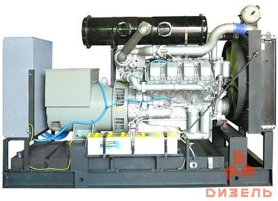 Дизельная электростанция АД315 на двигателе ТМЗ