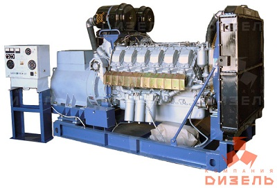 Дизельная электростанция АД315 на двигателе ЯМЗ
