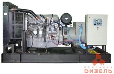 Дизельная электростанция АД500 на двигателе Perkins
