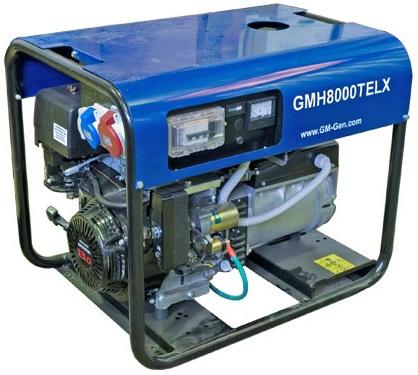 Бензиновая электростанция GMGen GMH8000TELX