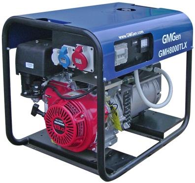 Бензиновая электростанция GMGen GMH8000TLX
