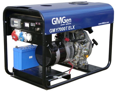 Дизельная электростанция GMGen GMY7000TELX